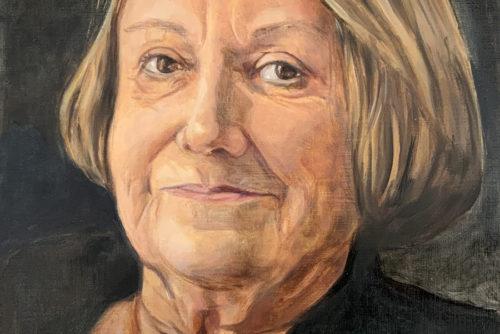 Sylvia Wolf Malwerkstatt Portraet in Öl