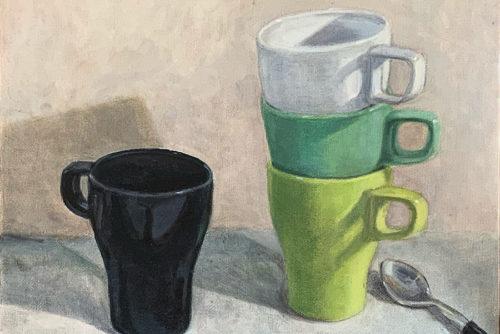 Sylvia Wolf Malwerkstatt Tassen